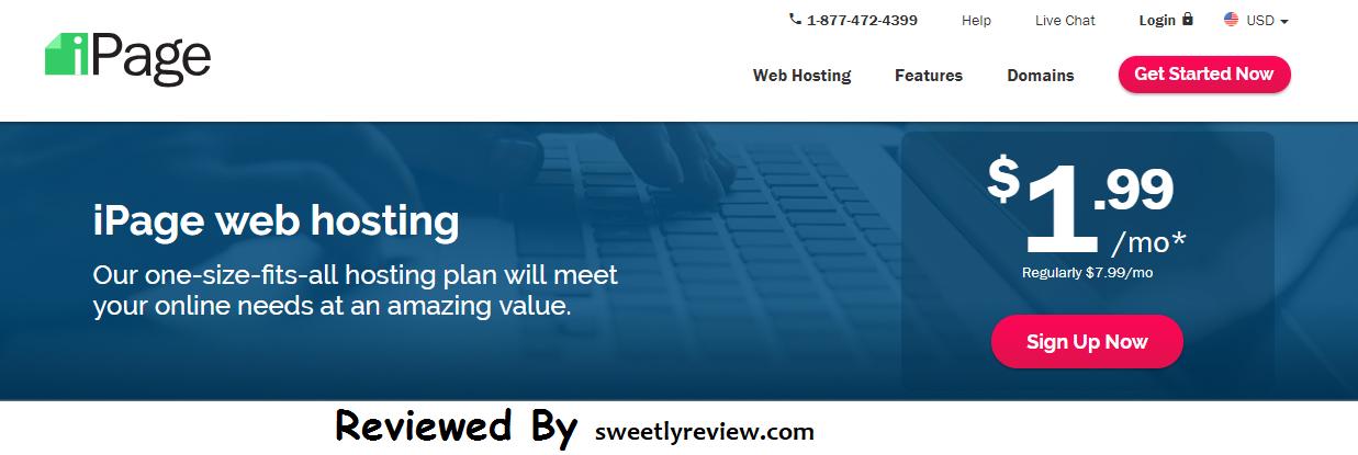 best web hosting ipage reviews