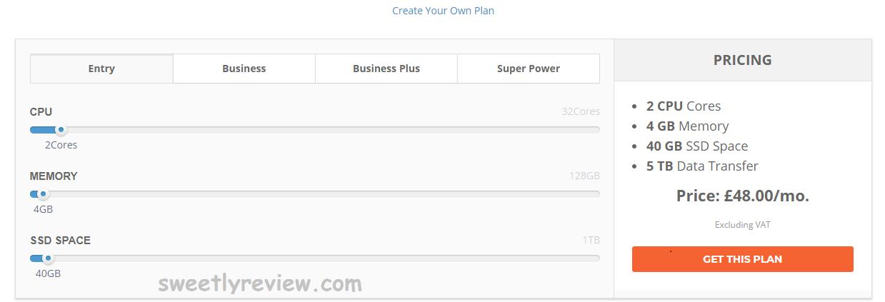 cloud hosting plan
