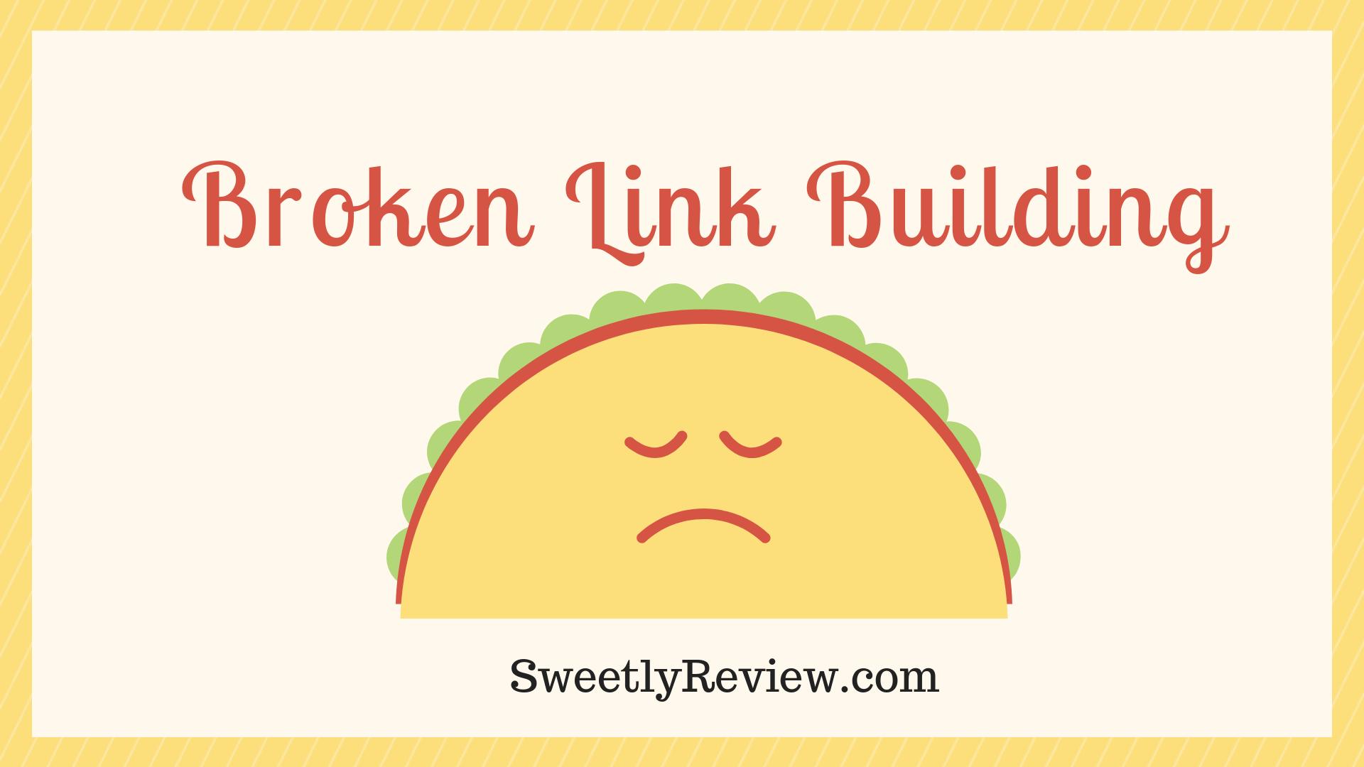 Broken link building strategy